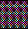 abstract geometrical multicolor seamless square vector image vector image