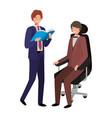 business men avatar character