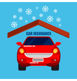 Car Insurance Car Protection Safety Life vector image