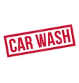 Car Wash rubber stamp vector image