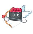 cupid ikura character cartoon style vector image