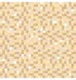 Digital pixel brown seamless pattern background vector image vector image
