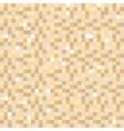 Digital pixel brown seamless pattern background vector image