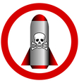 No poison rocket vector image vector image
