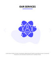 our services development growth human person vector image vector image