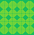 seamless pattern with celtic knot vector image