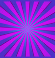 violet radial retro background violet and blue vector image vector image