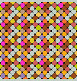 abstract multicolored seamless square pattern vector image vector image