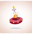 cute alien character 4 vector image vector image