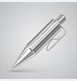colorful realistic pen vector image
