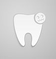 Damaged tooth vector image vector image