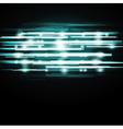 Dark green abstract backdrop vector image vector image