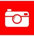 Digital photo camera sign vector image vector image