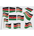 flag of Kenya vector image vector image