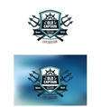 Nautical badges for Ocean Exploration vector image vector image