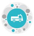 of transportation symbol on vector image vector image
