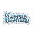 7th happy birthday lettering 7 years birthday