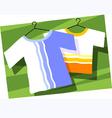 baby cloth vector image vector image