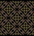 damask seamless pattern floral ornamental vector image