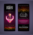 disco corporate identity templates cocktail vector image vector image