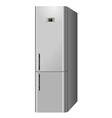 Electric refrigerator vector image