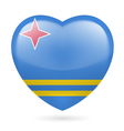 Heart icon of Aruba