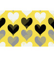 hearts seamless pattern in stylish trendy colors vector image vector image