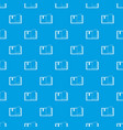 open book pattern seamless blue vector image vector image