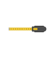 Tape measure isolated flat design vector image