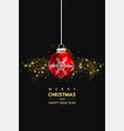 christmas social media pomotepromotion post vector image vector image