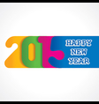 creative happy new year 2015 design stock vector image