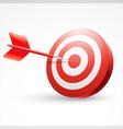 dart success vector image