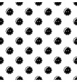flower button pattern seamless vector image
