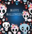 Happy Halloween beautiful vector image vector image