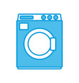 laundry washer machine vector image vector image