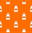 medicine bottle pattern seamless vector image vector image