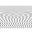 Perspective Checkered Background vector image vector image