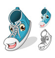 Shoes Mascot vector image vector image