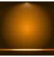 Illuminated stage podium vector image