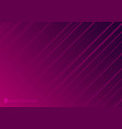 abstract striped neon line diagonal glowing pink vector image vector image