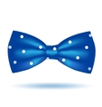 bow tie icon isolated on white background vector image