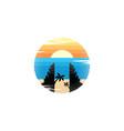kuta beach bali indonesia art sign symbol vector image vector image