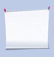 realistic sticky notes paper sheets templates vector image vector image