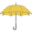 umbrella icon flat design vector image vector image