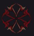 Star sign symbol vector image