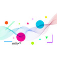 abstract background with dynamic linear wavesfor vector image