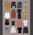 Basic wardrobe a minimalist autumn clothes