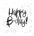 Creative happy birthday card template