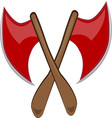 Crossed Axes vector image vector image