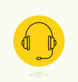Headphone for support vector image